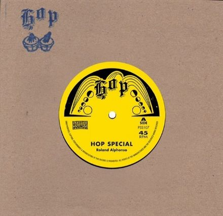 SALE ITEM - Roland Alphonso - Hop Special / The Inventors - Food Of Love (Hop / Pressure Sounds) 7""